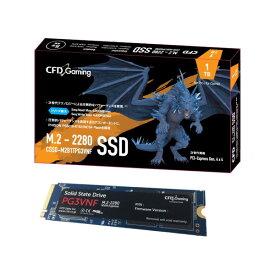 CFD CSSD-M2B1TPG3VNF [1TB/SSD] PCIe Gen4 x4/M.2/PG3VNFシリーズ/2280/最大リード5,000MB/s