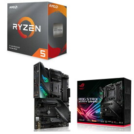 [パーツセット]AMD Ryzen 5 3600 BOX + ASUS ROG STRIX X570-F GAMING セット