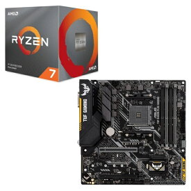 [パーツセット] AMD Ryzen 7 3700X BOX + ASUS TUF B450M-PLUS GAMING セット