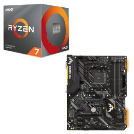[パーツセット] AMD Ryzen 7 3700X BOX + ASUS TUF B450-PLUS GAMING セット