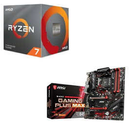 [パーツセット] AMD Ryzen 7 3700X BOX + MSI B450 GAMING PLUS MAX セット