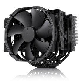 新製品 Noctua NH-D15-CH-BK NH-D15のブラックバージョン 140mmファン2基搭載 サイドフロー型CPUクーラー NH-D15 chromax.black