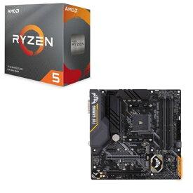 [パーツセット] AMD Ryzen 5 3600 BOX + ASUS TUF B450M-PRO GAMING セット