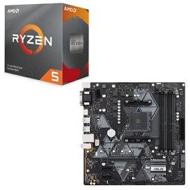 [パーツセット] AMD Ryzen 5 3600 BOX + ASUS PRIME B450M-A セット