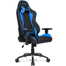 【Gaming Goods】AKRacing ゲーミングチェア Nitro V2 Gaming Chair (Blue) 高耐久PUレザー素材を張地に採用 NITRO V2シリーズ