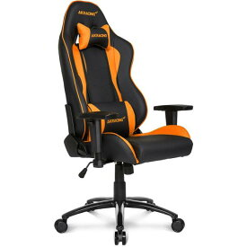 【Gaming Goods】AKRacing ゲーミングチェア Nitro V2 Gaming Chair (Orange) 高耐久PUレザー素材を張地に採用 NITRO V2シリーズ
