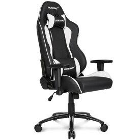 【Gaming Goods】AKRacing ゲーミングチェア Nitro V2 Gaming Chair (White) 高耐久PUレザー素材を張地に採用 NITRO V2シリーズ