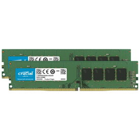 Crucial CT2K32G4DFD832A 64GB (32GBx2枚) DDR4-3200 デスクトップ用メモリ
