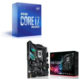 [パーツセット] Intel Core i7 10700K BOX + ASUS ROG STRIX Z490-F GAMING セット
