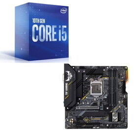 [パーツセット] Intel Core i5 10400 BOX + ASUS TUF GAMING B460M-PLUS セット