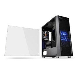 Thermaltake Versa H26 Black /w casefan CA-1J5-00M1WN-01 [ブラック] あらゆる構成での組みやすさを追求したミドルタワー型PCケース