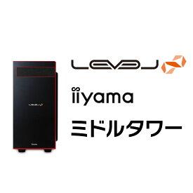 iiyama ゲームPC LEVEL-R0X6-R53-TAX-M [Ryzen 5 3600/16GBメモリ/500GB M.2 SSD/GeForce RTX 3070/Windows 10 Home][BTO]