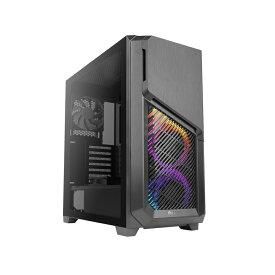 Antec DP502 FLUX ARGBファン3基 強化ガラスパネル搭載 冷却型ミドルタワーケース