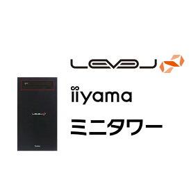 【セール期間 ポイントアップ】iiyama ゲームPC LEVEL-M0B5-R73X-RBX-M [Ryzen 7 3700X/16GBメモリ/500GB M.2 SSD/GeForce RTX 3060/Windows 10 Home][BTO]