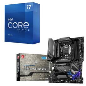 [パーツセット] Intel Core i7 11700K BOX + MSI MAG Z590 TOMAHAWK WIFI セット
