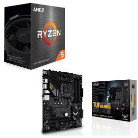 [パーツセット] AMD Ryzen 5 5600X BOX + ASUS TUF GAMING B550-PLUS セット
