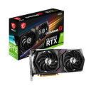 MSI GeForce RTX 3060 Ti GAMING X 8G LHR GeForce RTX 3060 Ti 搭載 グラフィックスカード