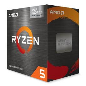 AMD Ryzen 5 5600G 100-100000252BOX Radeon グラフィックス搭載AMD Ryzen 5 5600G 6コア/12スレッドデスクトップ・プロセッサー