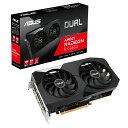 ASUS DUAL-RX6600-8G AMD RADEON RX 6600 搭載 グラフィックスカード