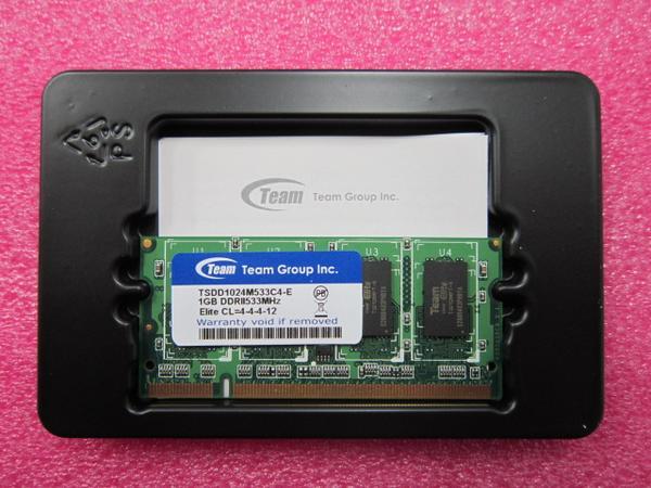 (注意:メール便のみ送料無料)新品/即納/1Gx1枚=1GB/DELL Inspiron 1300/1420/1520/1525対応1GBメモリ【安心保証】【激安】