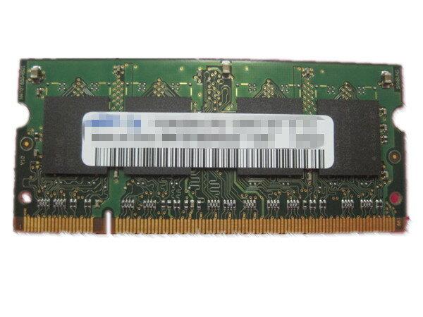 中古ノートパソコン用メモリ♪ELECOM ET667-N1GA互換 PC2-5300 DDR2 667/DDR2 533 PC2-4200に下位対応 1G【中古】【中古メモリ】【在庫処分セール】【安心保証】【激安】