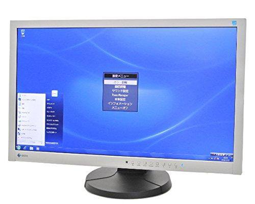 【23型液晶モニター】EIZO製EV2335W 23インチ薄型液晶ディスプレイ 大画面 映り良い 1920×1080 IPS FHD DVI+RGB+DP入力 10000h未満