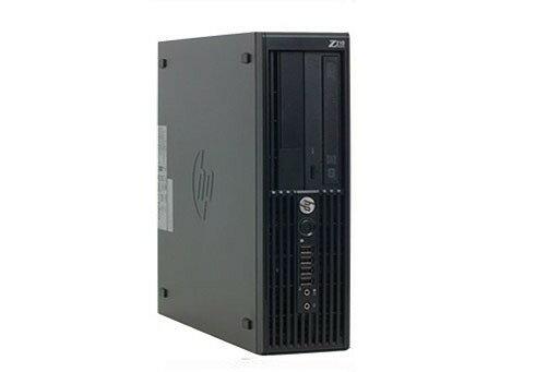 中古パソコン 中古デスクトップパソコン【Windows 7 Pro】HP Z210 Workstation 爆速QuadCore Intel Xeon E3-1225 3.1G/8G/500GB/DVD-ROM/HDDリカバリ内蔵/無線付