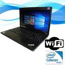 中古 ノートパソコン【無線有】【Windows 10搭載】【Office付】Lenovo ThinkPad Edge E530 Celeron B830 1.8G/2G/320GB/DVDスーパーマ…