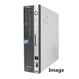 中古パソコン 中古デスクトップパソコン【Windows 7 Pro】富士通 FMV D5シリーズ Core2Duo E7500 2.93G/1G/160GB/DVD-ROM【EC】【DP1633-A7】