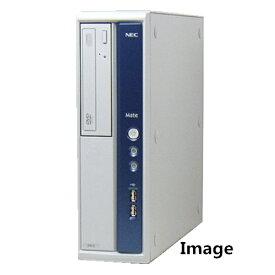 中古パソコン デスクトップ Windows7 無線有 NEC MB-B Core i5 650 3.2G/メモリ4GB/SSD 240GB/DVD-ROM【中古】【中古パソコン】【中古デスクトップパソコン】【中古PC】