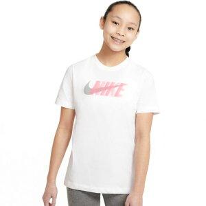 ナイキ tシャツ キッズ ジュニア 半袖 NIKE 女の子 男の子 130cm 140cm 150cm 160cm 半袖tシャツ 綿100% 子供服 ショートスリーブ グラフィック トレーニング 黒 白