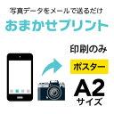 【写真データプリント】 2枚■A2(420×594mm)ポスター/インクジェット出力(水性)/出力のみ/納期:翌日出荷