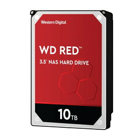 Western Digital WD101EFAX-RT 10TB 3.5インチHDD WD Red シリーズ SATA3 6Gb/s