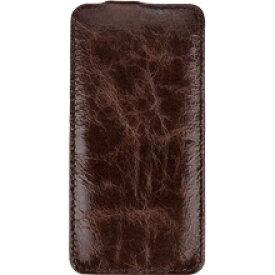 【送料無料】BONRONI Premium Leather Case for iPhone 6s/6 Flip 濃茶 【RCP】【smtb-kd】