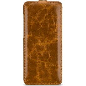 【送料無料】BONRONI Premium Leather Case for Galaxy S9+ Flip 茶 【RCP】【smtb-kd】