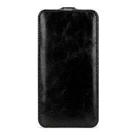 【送料無料】BONRONI Premium Leather Case for iPhone X Flip 黒 【RCP】【smtb-kd】