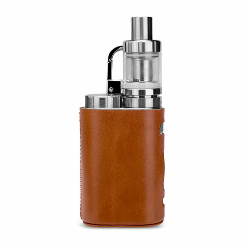【送料無料】WISTERIAS Leather case for Eleaf iStick Pico (Grus: Sepia Brown) 【RCP】【smtb-kd】