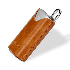 【送料無料】WISTERIAS Leather case for glo 【Pouch05】 (Grus Sepia Brown) 【RCP】【smtb-kd】