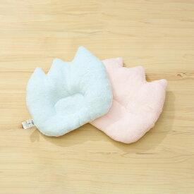 【ネコポス対応】 ピースベビーグース 『ふわサラチューリップまくら』 赤ちゃん ベビー 枕 日本製 ピンク/ブルー タオル 綿100% 出産祝い