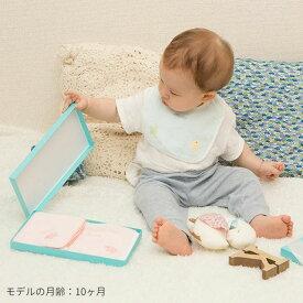 (お名前刺しゅうなしの通常ver.)ママが毎日使うスタイとタオルのセット『ふわサラ気配り上手のプチギフト』(赤ちゃん/ギフトセット/男の子/女の子/スタイ/内祝い/ビブ/タオル/プレゼント 0歳)PeaceBabyGoose(ピースベビーグース)【BOX付き】