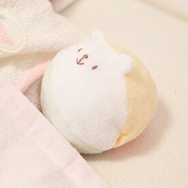 ピースベビーグース 『やさしくにっこり♪くまさんボール』 ボール おもちゃ 赤ちゃん 新生児〜 綿100& 日本製