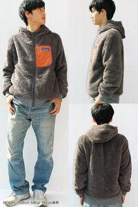 【送料無料】【KRIFFMAYER】リバーシブルボアフリースジャケットジャケットアウタージャンパークリフ裏起毛クリフメイヤー【メンズ/レディス】【A/W】