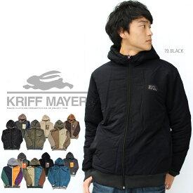 【送料無料】【KRIFF MAYER】ひっくりジャケット リバーシブル ボア フリースジャケット ジャケット アウター ジャンパー クリフ 裏起毛 クリフメイヤー【メンズ/レディス】【A/W】