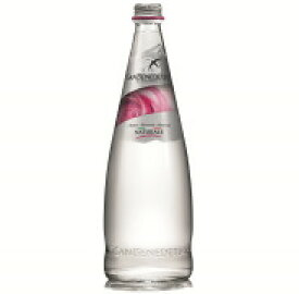 【炭酸無し】Sanbenedetto サンベネデット ナチュラル ミネラルウォーターグラスボトル 750ml*12本入【同梱・代引不可】イタリア おしゃれ 美容