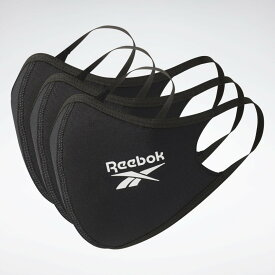 【Reebok】リーボック フェイスマスク FACE COVER 3-PACKアディダスマスク同等品
