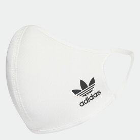 アディダス マスク フェイスカバー 3枚組(M/L) / FACE COVERS M/L ホワイト 白 あでぃだす adidas