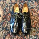 【再入荷】Sanders サンダースMILITARY COLLECTION Military Derby Shoe /Black 革靴