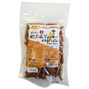 【ドクターズチョイス】納豆菌ジャーキー にんじんカット 150g【HLS_DU】