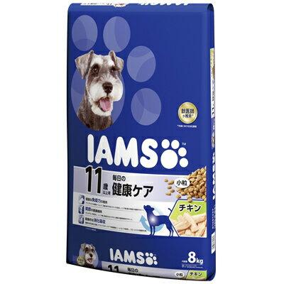 【アイムス】 11歳以上用 毎日の健康ケア チキン 小粒 8kg