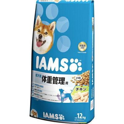[月得][1]【アイムス】 成犬用 体重管理用 チキン 小粒 12kg